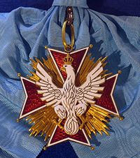 Order of the White Eagle badge (Republic of Poland 1921-1939) - Tallinn Museum of Orders.jpg