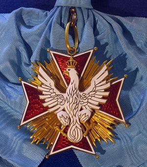Order of the White Eagle badge (Republic of Poland 1921-1939) - Tallinn Museum of Orders.jpg