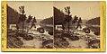 Oregon Portage Railroad - Residence of Jo. Bailey, Esq., O. R. R. Cascades by C. E. Watkins, 1867.jpg