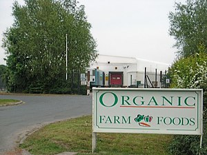 English: Organic Farm Foods The packing facili...
