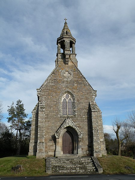 Les Anges chapel in Orvault