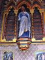 Ourville-en-Caux (Seine-Mar.) église Notre-Dame-de-l'Assomption, statue (04) Saint Jean l'évangéliste.jpg