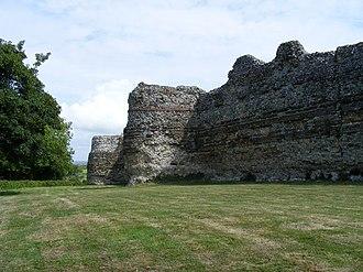 Anderitum - Roman masonry in the walls of Anderitum