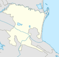 Outline map of Kumtorkalinsky District (with position on the map of Dagestan).png
