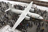 Overhead view of the Antonov An-132D.jpg