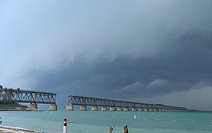 Bahia Honda Rail Bridge - Image: Overseas Railroad