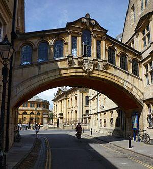 English: Oxford -Bridge of Sighs- Hertford Col...