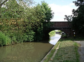 Ansty, Warwickshire - Image: Oxford Canal Ansty bridge 19j 08