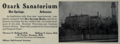 "Ozark Sanatorium (""American medical directory"", 1906 advert).png"