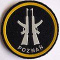Oznaka Poznańskiego Pułku Obrony Terytorialnej..JPG
