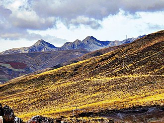 Sierra La Culata National Park - Image: Páramo de Mucubají