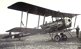 No. 1 Flying Training School RAAF - Avro 504K of No. 1 FTS, July 1926