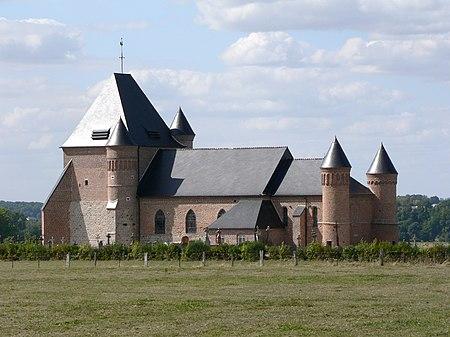 Église Saint-Médard de Flavigny-le-Grand-et-Beaurain