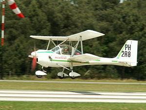 Aviasud Mistral - The Aviasud Mistral has a biplane configuration