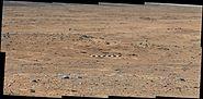 PIA17360-MarsCuriosityRover-Waypoint1-DarwinOutcrop-20130907