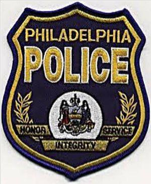 Philadelphia Police Department badge Português...