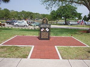 Pinellas Park, Florida - Korean War memorial in Freedom Lake Park