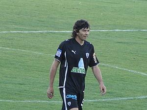 Pablo Gabriel García - García in action for PAOK in 2010