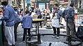 Paella a la Plaça de la Reina, Falla Tio Pep 05.jpg