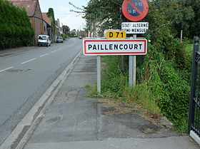 Une entrée de Paillencourt.