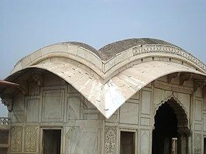 Naulakha Pavilion - Naulakha Pavilion is known for its distinctive Bengali-style curvilinear roof.