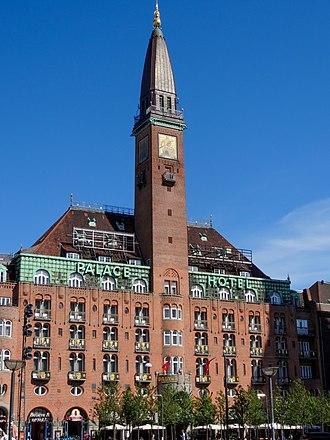 Palace Hotel (Copenhagen) - Image: Palace Hotel Copenhagen dk