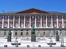 Bâtiment du palais de justice de Chambéry