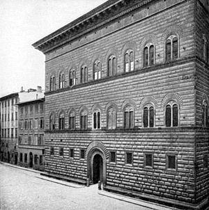 Simone del Pollaiolo - Palazzo Strozzi, built by Simone Pollaiolo.