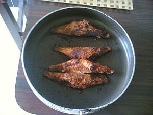 Mangalorean Catholic cuisine - A Fried Fish in Mangalorean Catholic style