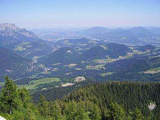 Obersalzberg - View from Kehlsteinhaus