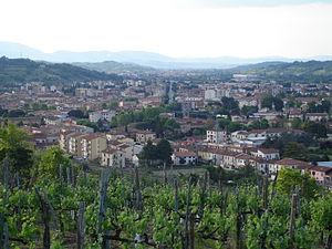Montevarchi - Image: Panoramamontevarchi 5