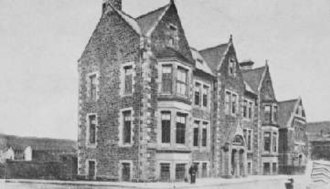 Miners' institute - The Parc and Dare Hall Workingman's Club in 1894
