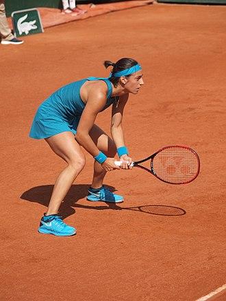 Caroline Garcia - Garcia at the 2018 French Open