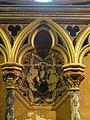 Paris (75), Sainte-Chapelle, chapelle basse, 3e travée côté sud, médaillon.JPG