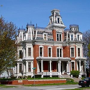 J. Monroe Parker–Ficke House - Image: Parker Fricke