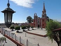 Parroquia de Santa Maria de Guadalupe, Romita, Guanajuato.JPG