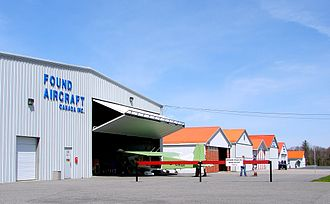 Parry Sound Area Municipal Airport - Hangars at Parry Sound Airport