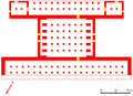 Pasargadae residential palace plan.png