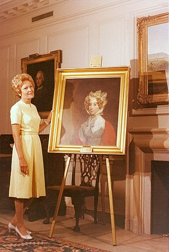 Louisa Adams - Louisa Adams' successor Pat Nixon acquired a portrait of the First Lady that now hangs in the White House.