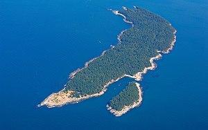 Patos Island - Aerial view of Patos Island