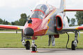 "Patrulla Águila CASA C-101EB Aviojet and ""culopollo"" (21470242003).jpg"