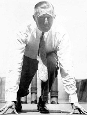 Paul Pilgrim - Pilgrim as NYAC manager in 1936