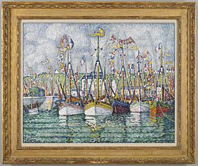 Blessing of the Tuna Fleet at Groix