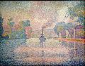 Paul Signac - L'Hirondelle Steamer on the Seine.JPG