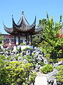 Pavilion with Tai Hu stones - Dr. Sun Yat-Sen Classical Chinese Garden - Vancouver, Canada - DSC09796.JPG