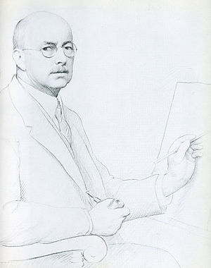 William McGregor Paxton - Image: Paxton self portrait