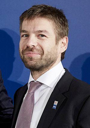 Robert Pelikán - Image: Pelikan and Ard van der Steur, (cropped)