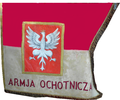 Pennant of the Volunteer Army (Second Polish Republic) in War 1920.png