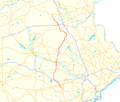 Pennsylvania Route 100 map.png