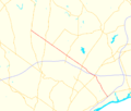 Pennsylvania Route 132 map.png
